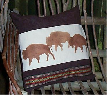 Buffalo Pillow Picture