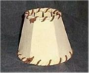Chamois chandelier shade