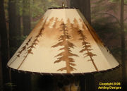 Wolves lampshade Picture